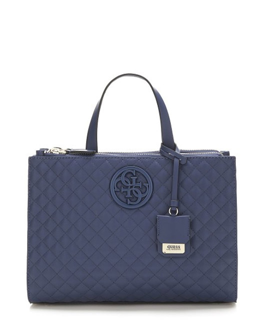 Ženy - Kabelka Guess G Lux Quilted Satchel