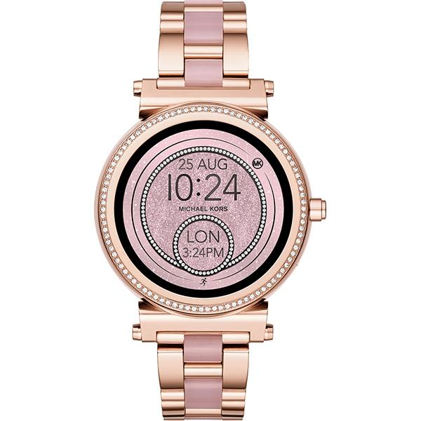 604b69fe47 Chytré hodinky Michael Kors Smart Watch Soffie MKT5041 - Hanymany.cz