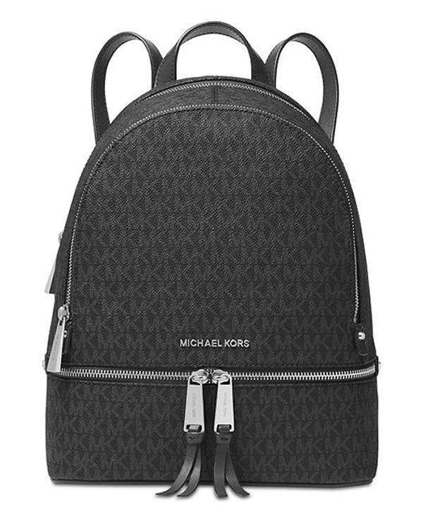 Značky - Kabelka Michael Kors Rhea Medium Backpack black
