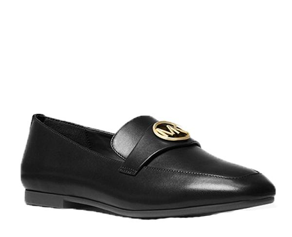 Značky - Boty Michael Kors Heather Leather Loafer černé