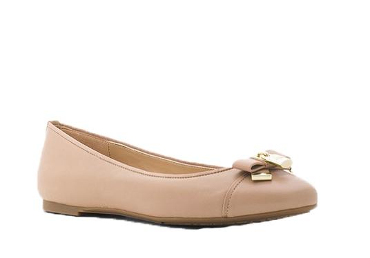 Značky - Baleriny Michael Kors Alice Leather Ballet Flat truffle
