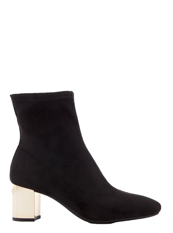 Značky - Boty Michael Kors Paloma Heel Ankle Boots černé