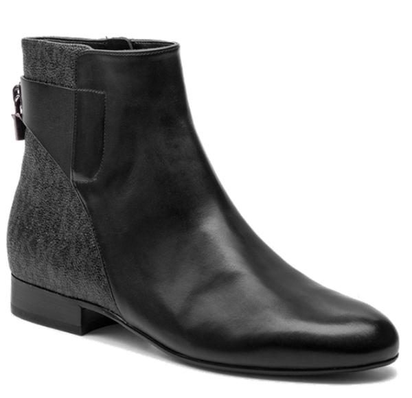 Značky - Boty Michael Kors Mira Flat Ankle Boots černé