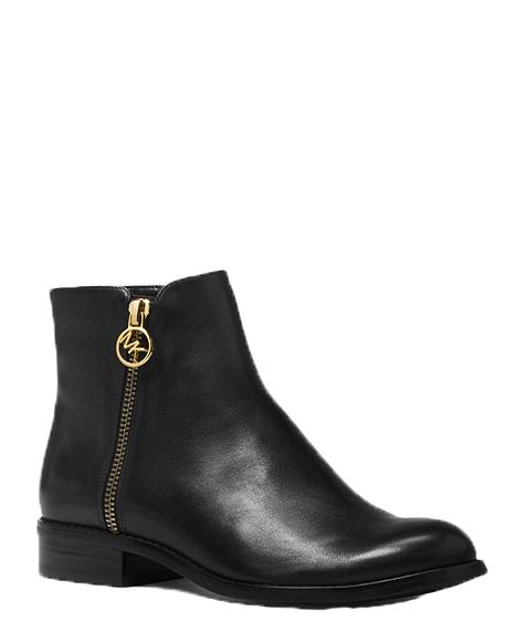 Značky - Boty Michael Kors Jaycie Leather Ankle Boot černé