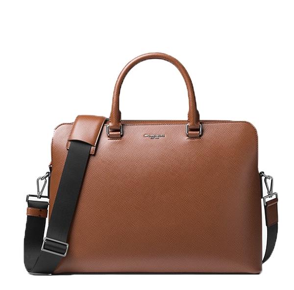 Muži - Kabela na notebook Michael Kors Harrison Leather Briefcase luggage