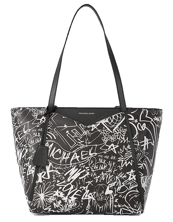 Značky - Kabelka Michael Kors Whitney Large Graffiti Leather Tote