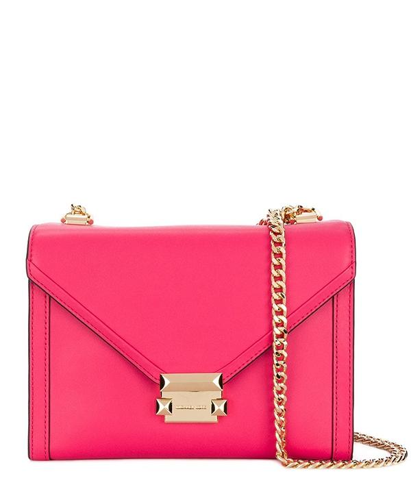 Značky - Kabelka Michael Kors Whitney Large Leather Convertible Shoulder rose pink