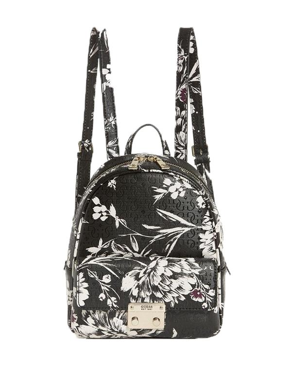 Značky - Kabelka batoh Guess Tamra Floral Backpack