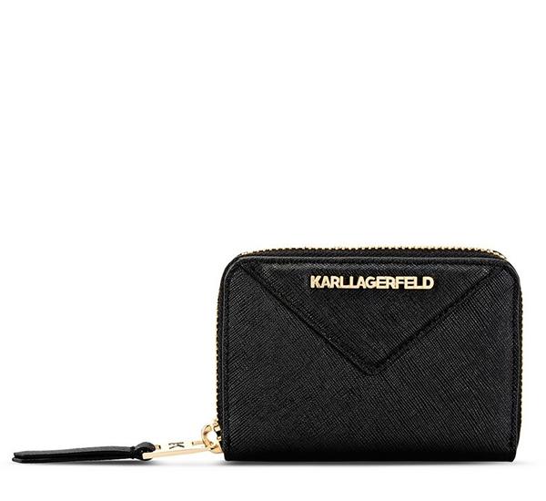 Ženy - Peněženka Karl Lagerfeld K/Klassik Small Zip Wallet