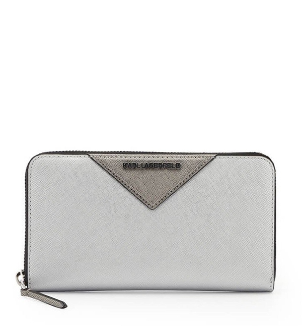Ženy - Peněženka Karl Lagerfeld K/Klasisik Silver Wallet