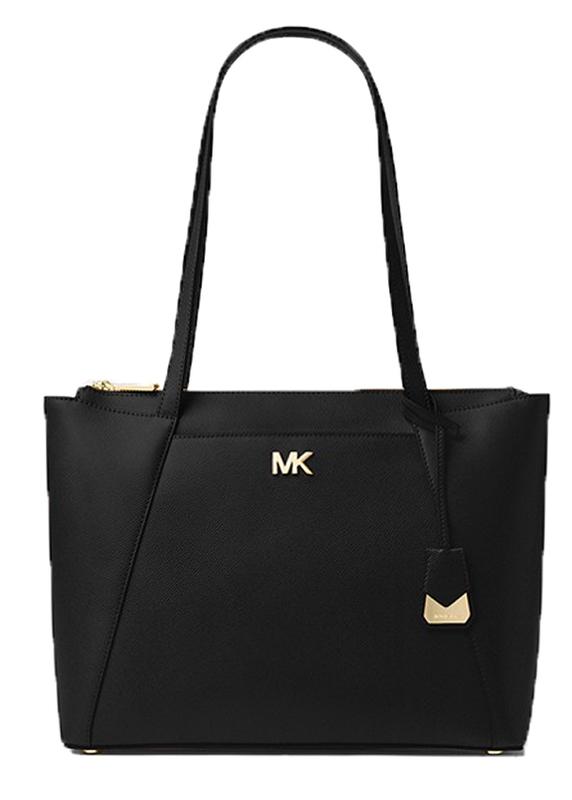 Značky - Kabelka Michael Kors Maddie Large Leather Tote černá