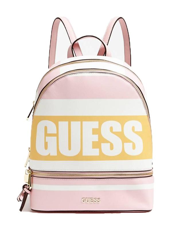 Značky - Kabelka batoh Guess Jordyn Logo Print Backpack