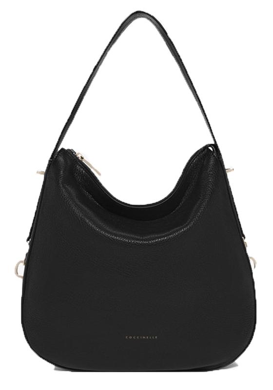 Značky - Kožená kabelka Coccinelle Iggy černá