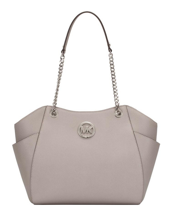 Značky - Kabelka Michael Kors Jet Set Travel Large Chain Shoulder pearl grey