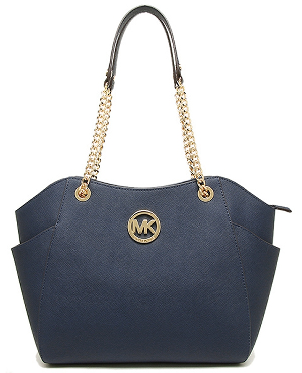 Značky - Kabelka Michael Kors Jet Set Travel Large Chain Shoulder navy