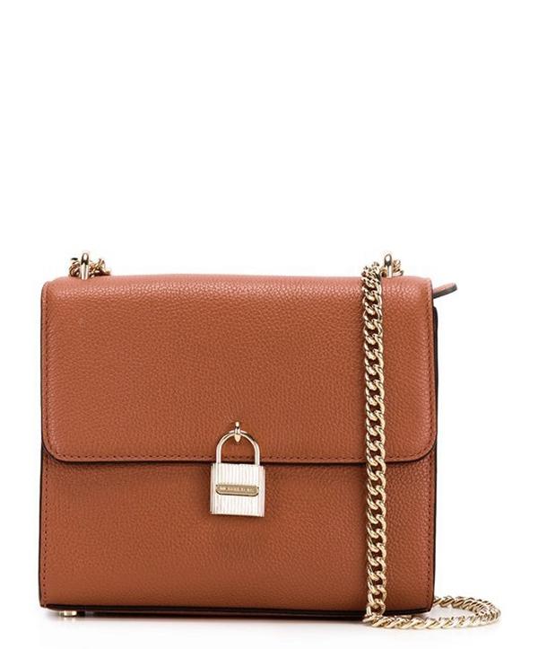 Značky - Kabelka Michael Kors Mercer Large Leather Messenger luggage