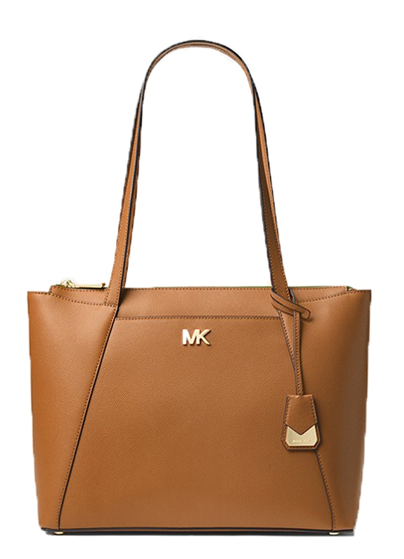 Značky - Kabelka Michael Kors Maddie Medium Crossgrain Leather Tote acorn