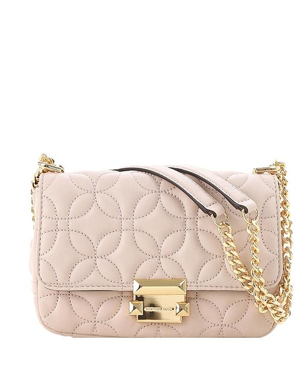 Značky - Kabelka Michael Kors Sloan Small Floral Quilted Leather Shoulder soft pink
