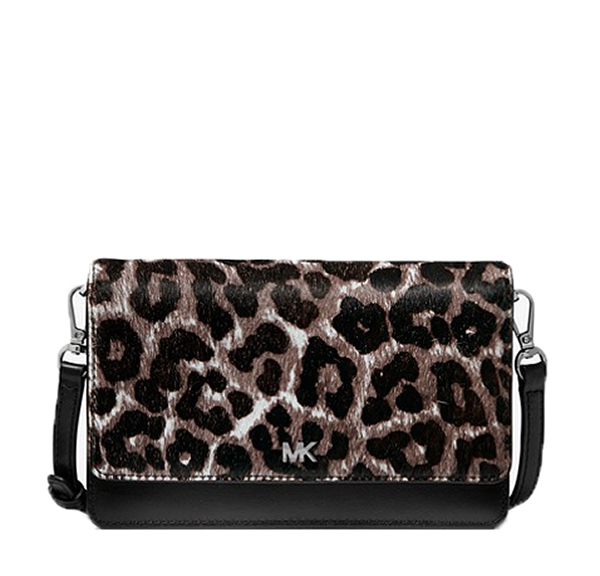 Značky - Kabelka Michael Kors Leopard Calf Hair and Leather Convertible Crossbody
