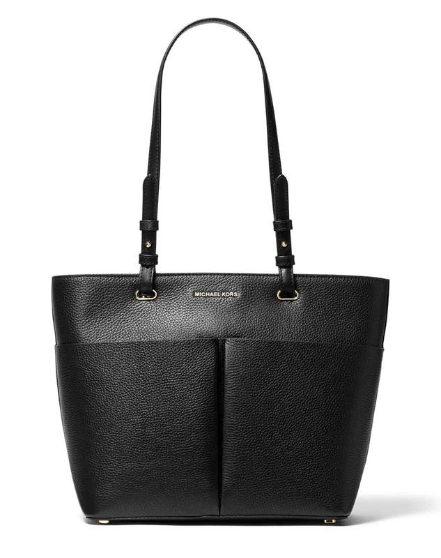 Značky - Kabelka Michael Kors Bedford Medium Pebbled Leather Tote černá