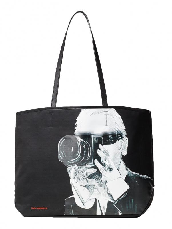 Ženy - Kabelka Karl Lagerfeld Karl Legend Photographer Tote