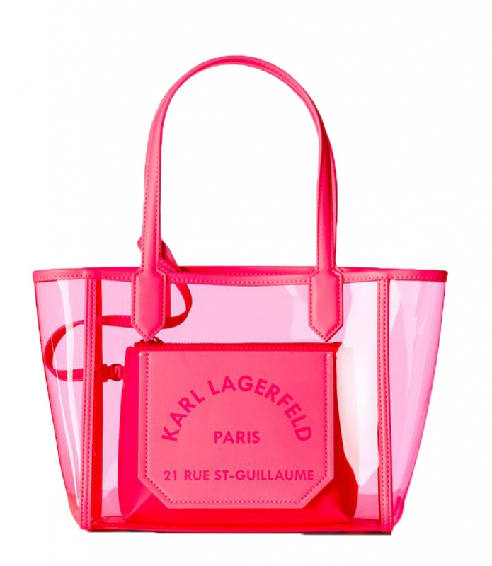 Ženy - Kabelka Karl Lagerfeld K/Journey Small Transparent Tote