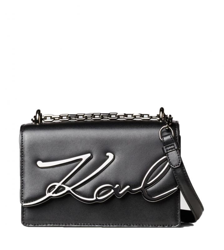 Ženy - Kabelka Karl Lagerfeld K/Signature Small Shoulder černá