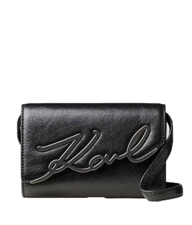 Ženy - Kabelka Karl Lagerfeld K/Signature Belt Metallic