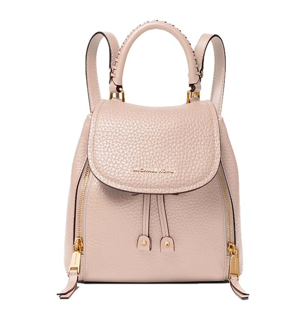 Značky - Kabelka batoh Michael Kors Viv Extra-Small Pebbled Leather Backpack soft pink