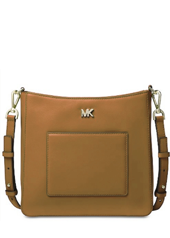 Značky - Kabelka Michael Kors Gloria Leather Messenger acorn