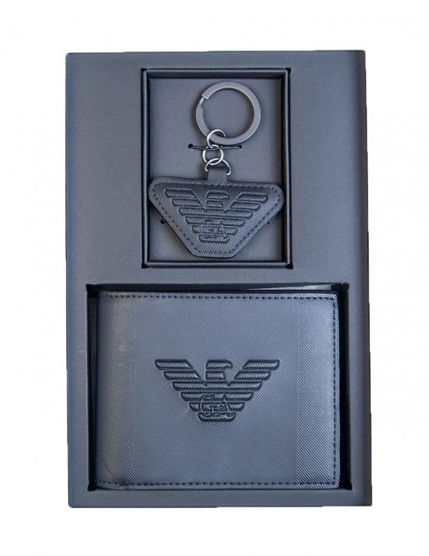 Značky - Peněženka Emporio Armani + klíčenka