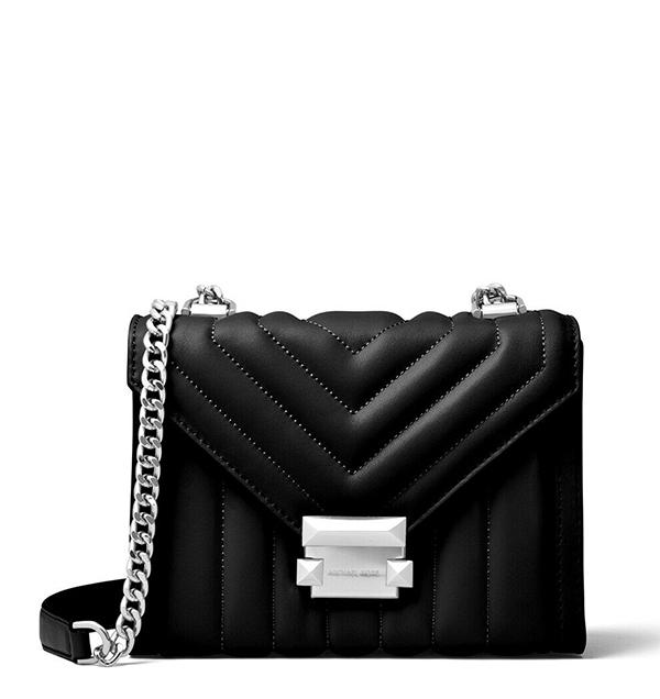Značky - Kabelka Michael Kors Whitney Large Quilted Leather Convertible Shoulder černá