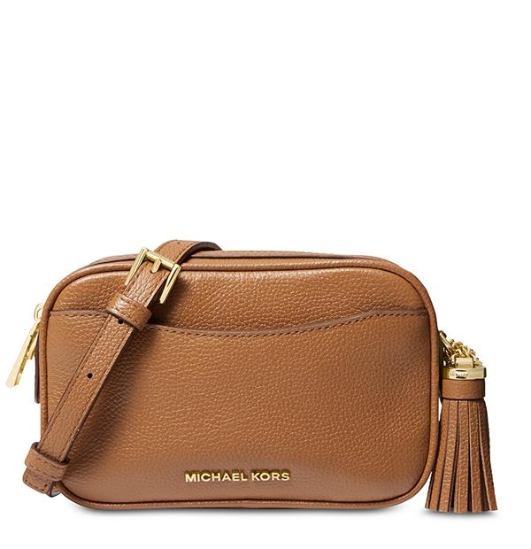 Značky - Kabelka ledvinka Michael Kors Pebbled Leather Convertible Belt acron