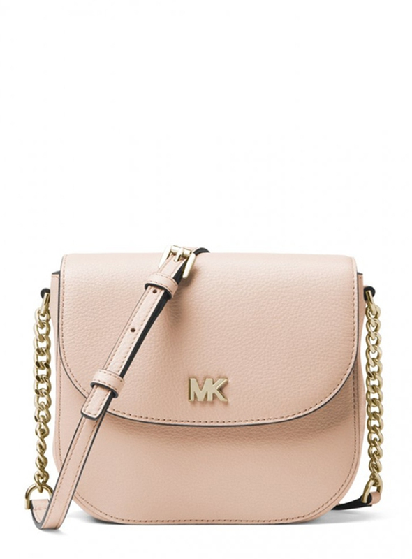 Značky - Kabelka Michael Kors Mott Leather Dome Crossbody soft pink
