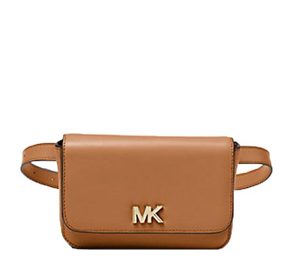 Ženy - Kabelka ledvinka Michael Kors Mott Leather Belt acorn