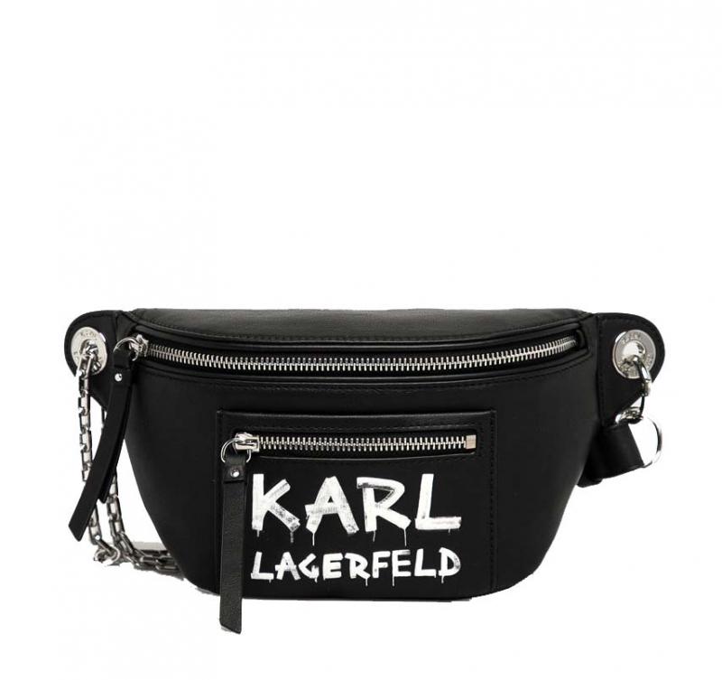 Ženy - Kabelka ledvinka Karl Lagerfeld K/Soho Graffiti Bumbag