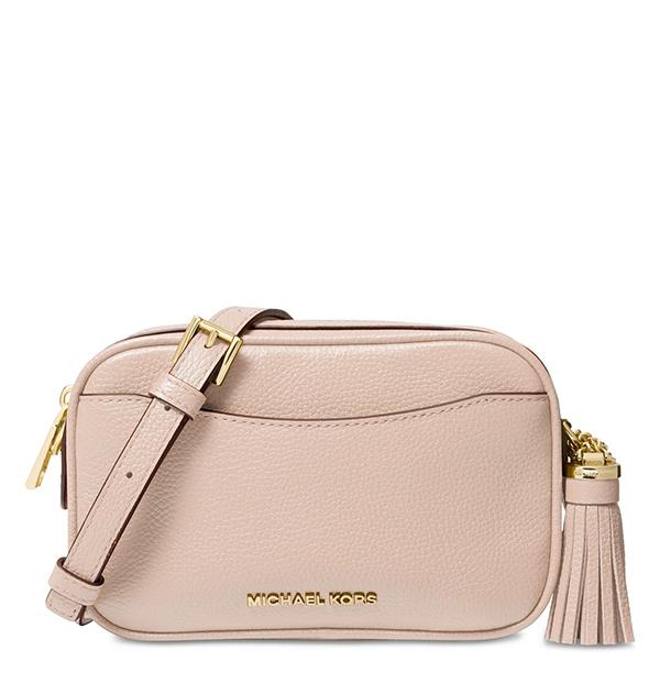 Značky - Kabelka ledvinka Michael Kors Pebbled Leather Convertible Belt soft pink