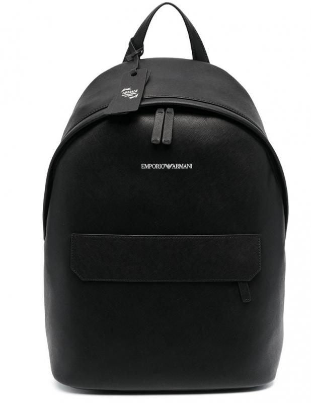 Značky - Kožený batoh Emporio Armani