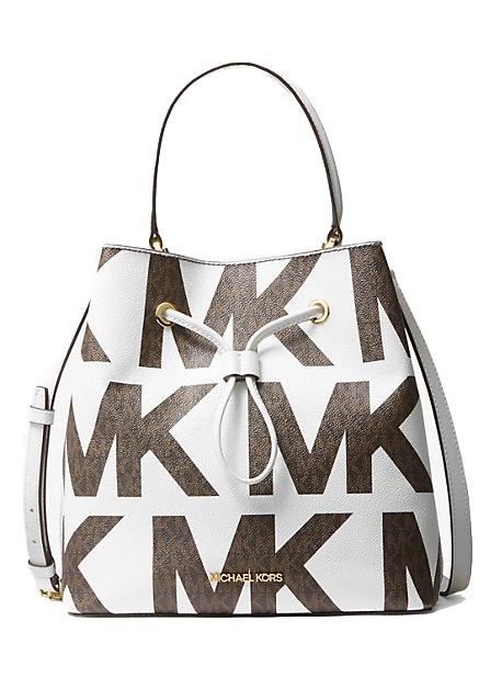 Značky - Kabelka Michael Kors Suri Large Graphic Logo Shoulder