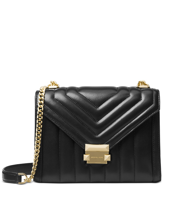 Značky - Kabelka Michael Kors Whitney Small Quilted Leather Convertible Shoulder