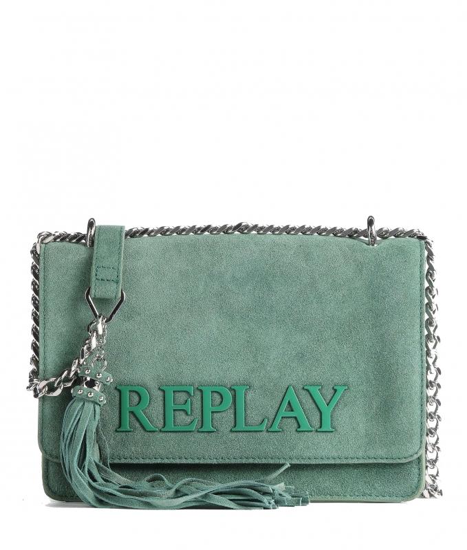 Značky - Kožená kabelka Replay