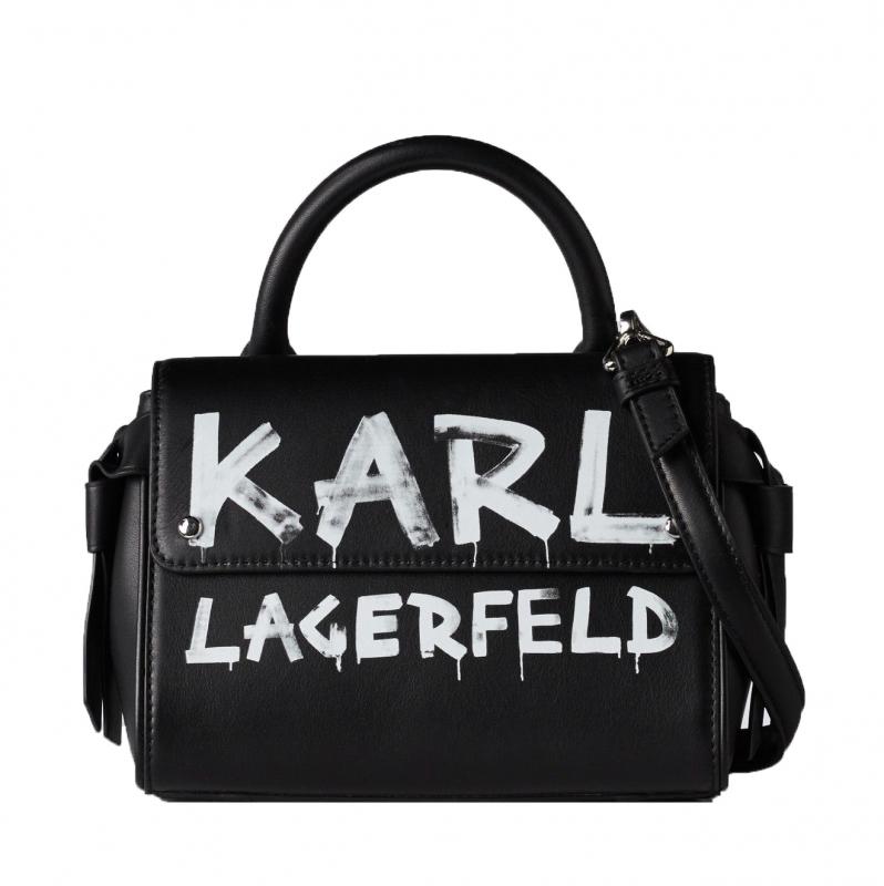 Ženy - Kabelka Karl Lagerfeld K/Ikon Graffiti Mini Top-Handle
