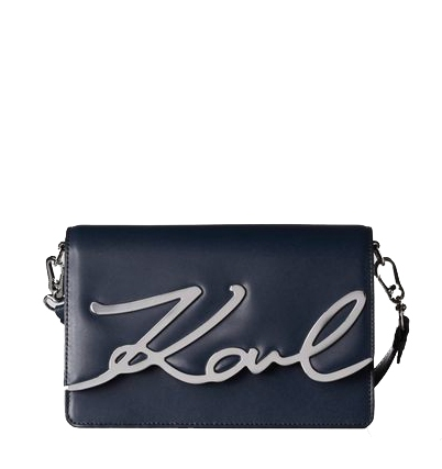Ženy - Kabelka Karl Lagerfeld K/Signature Shoulderbag modra