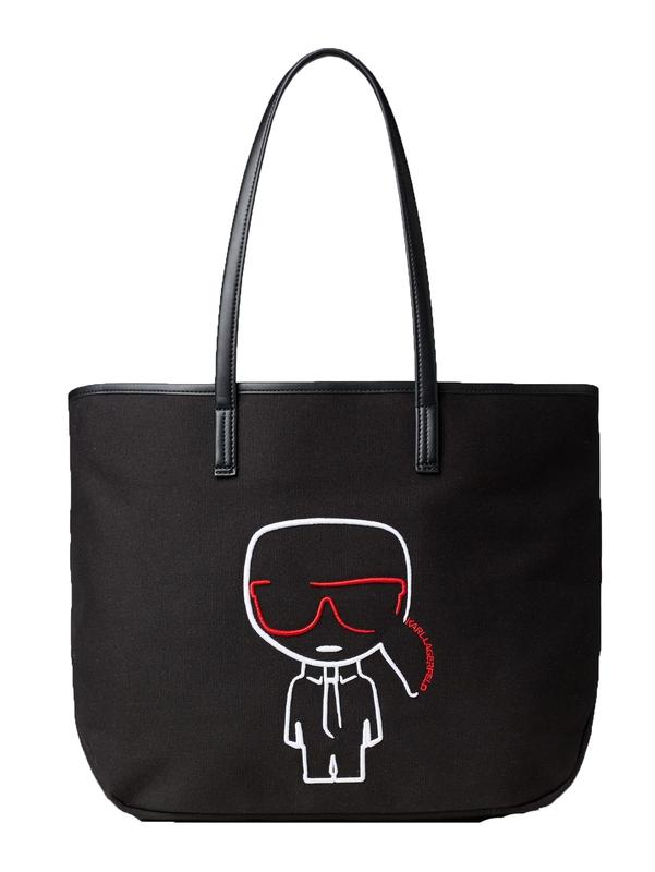 Ženy - Kabelka Karl Lagerfeld K/Ikonik Canvas Shopper