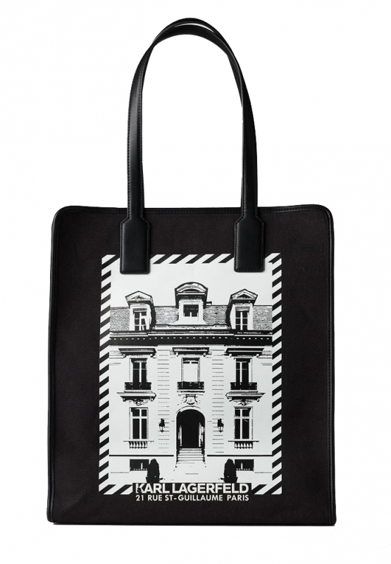 Ženy - Kabelka Karl Lagerfeld K/Maison Canvas Tote