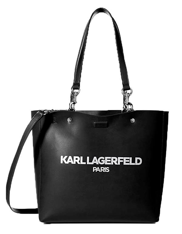 Ženy - Kabelka Karl Lagerfeld Paris Adele Smooth PU Applique Tote