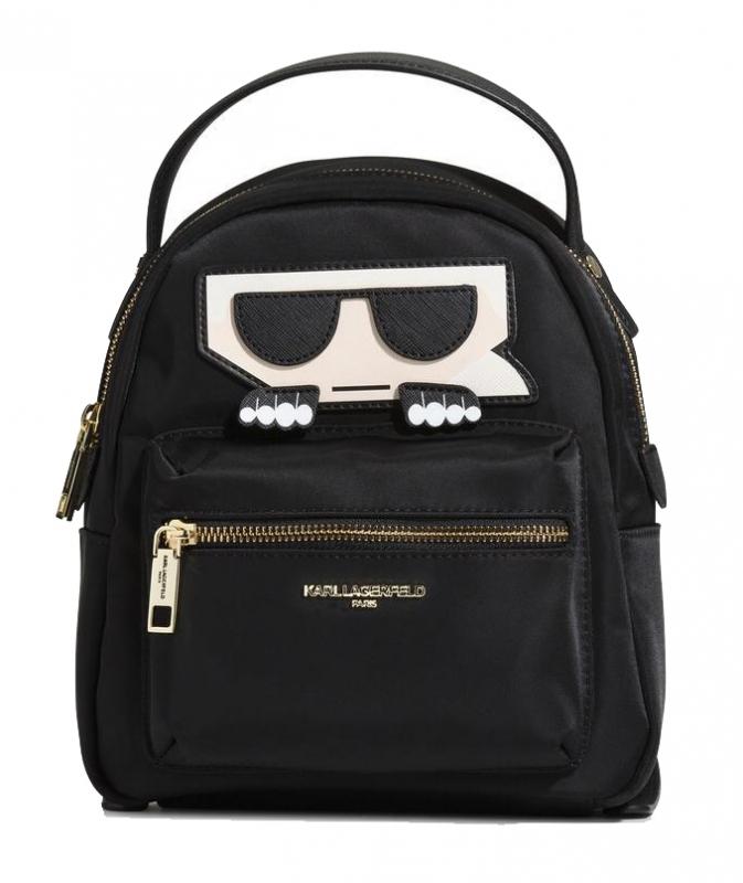 Ženy - Kabelka batoh Karl Lagerfeld Paris Amour Nylon Karl Backpack