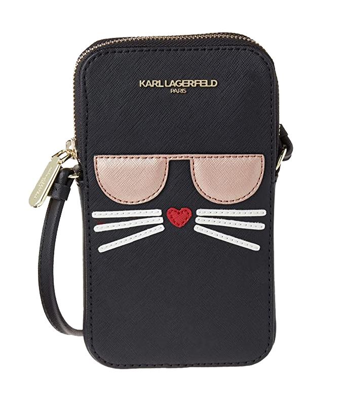 Ženy - Kabelka pouzdro Karl Lagerfeld Paris Maybelle Cell Phone Crossbody