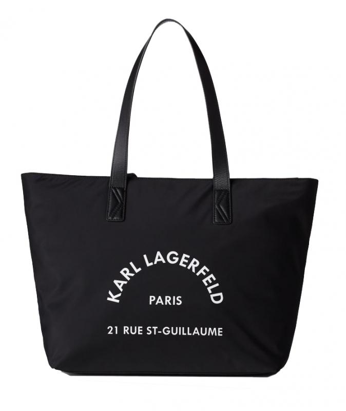 Ženy - Kabelka Karl Lagerfeld Rue St Guillaume Nylon Tote