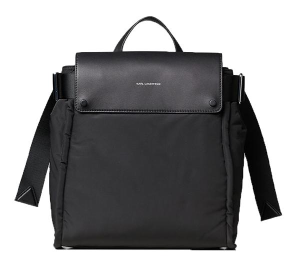 Ženy - Kabelka batoh Karl Lagerfeld K/Ikon Nylon Backpack